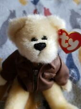 Ty Beanie Attic Treasure Baron the Bear With Tag -Teddy Collectible Toy