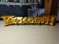 MEGADETH LOGO 3D BIG 41,5 CM