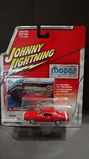 Johnny Lightning 1970 Red Dodge Charger Muscle Car Mopar Or No Car 1:64 Diecast