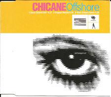CHICANE Offshore 3TRX w/ RARE DISCO EDIT & REMIX  CD Single SEALED USA seller