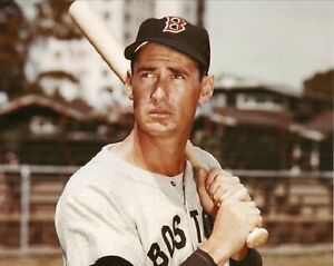 Ted Williams--Boston Red Sox--Glossy 8x10 Color Photo