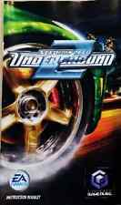 GameCube Need for Speed Underground 2 REPLACEMENT FRENCH MANUAL ONLY (NO GAME)