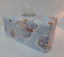 Classic Dumbo Tissue Box Cover With Circle Opening - Lovely Gift - Nursery