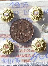 REGNO D' ITALIA VALORE 1 CENT 1905  sigillato FDC RAME ROSSO  SUBALPINA