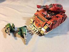 Warhammer 40k Blood Angels Space Marines Painted Predator