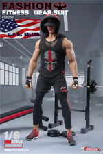 """1/6 Men Fitness Coach Clothes Set For 12"""" Muscular Body PHICEN M34 M35 ❶USA❶"""