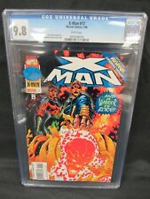 X-Man #17 (1996) Terry Kavanagh Story CGC 9.8 White Pages E382