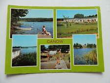 """AK PK WUSTROW (Kr. Neustrelitz) OT CANOW DDR 1987 Campingplatz C/18 """"TEXTIMA"""