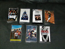 INXS Cassette Lot of 7 Swing/X/Live/Welcome/Full Moon/Elegantly/Hits  Free Mail