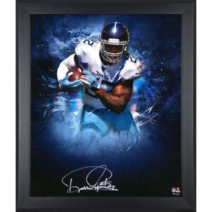 """DERRICK HENRY Autographed Titans """"In Focus"""" 20 x 24 Photograph FANATICS"""