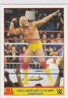 2015 Topps Hulk Hogan Tribute 15 Defeats Undertaker for the WWE Championship