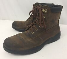 DR COMFORT Boss Diabetic Men's 10.5M 9520 Brown Leather Work Boot