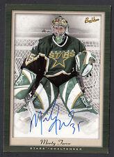 Marty Turco 2005-06 Bee Hive PhotoGraphs 5x7 Auto Card