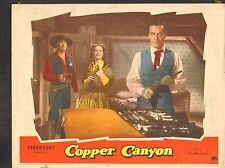 1950 Movie vestíbulo Tarjeta #3-1372 - COBRE Canyon - WESTERN