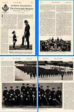 1915 WWI ~ CONNAUGHT RANGERS HISTORY COL.ABERCROMBIE & SON ~ 2nd BATT OFFICERS