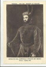cartolina antica venezia 1935 mostra di tiziano vedi