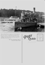 1910 LAKE MINNETONKA EXCELSIOR MN STEAMBOAT STILLWATER BOAT VICTORIAN POSTCARD
