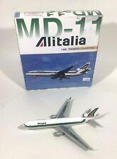 1998 Dragon Wings 1:400 Diecast Model Airplane MD-11 Alitalia #55058