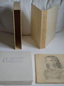 LE JARDIN DES CARESSES DE F. TOUSSAINT ED G. RAOULT ILLUS M. LYDIS 1954 EX NUM