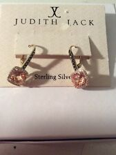 $115 Judith Jack 10k Gold Plated Sterling Silver Drop Earrings
