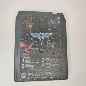 Van Halen 8 Track Tape Self Titled Runnin' With The Devil Jamie's Cryin Eruption