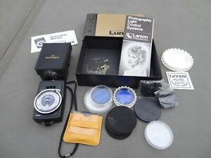 Gossen LunaLux Luna Lux in Original Box with various accessories