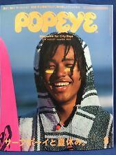 Popeye Japanese Magazine August 2018 Surf Boy and Summer Vacation Surfing Surfer
