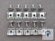 10 Kit Dispositivo De Protección Protector De Motor Tornillos Clips Audi A4 A6