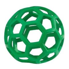 JW Pet Hol-ee Roller Durable Lattice Rubber Ball Dog Toy - Small Size 3.5