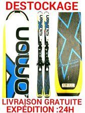 """ski occasion enfant SALOMON """"X-RACE"""" taille:150cm+fixations"""