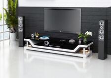 Rtv TV Sideboard Leather Glass Table Television Wardrobe Designer New 3009