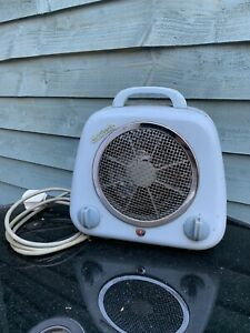 Vintage Retro MAGICAIR Electric Fan Heater Blue 1950's 60's  Hot & Cold Magicook