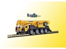 Kibri 10558 H0 LKW Zweiwege Mobilkran LTM 1050-4 GleisBau mit LED- Beleuchtung