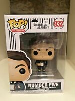 NUMBER FIVE FUNKO POP THE UMBRELLA ACADEMY TELEVISION TV #932