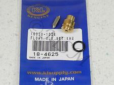 KAWASAKI KZ550 ZX550 NEW K&L FLOAT VALVE NEEDLE & SEAT ASY 18-4625