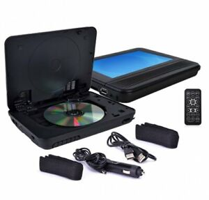 """RCA Mobile DVD System w/ Dual 7"""" Screens, ESP, Remote & Headrest Straps"""