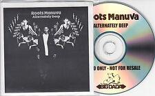 ROOTS MANUVA Alternately Deep 2006 UK 12-track promo CD + press release