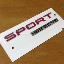 Nouveau Authentique Range Rover Sport HSE SCV6 Badge * arrière Insigne de hayon de coffre