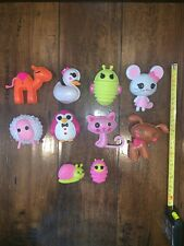 LALALOOPSY Charactors Mixed Lot Of 10. Excellent Condition!!