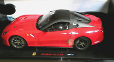 HOT WHEELS ELITE 1:18 AUTO IN METALLO FERRARI 599 GTO ROSSO ART T6925