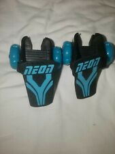 Nwob Neon Street Roller Electric Blue Age 6+ Attachable Rollerblades/Heelies