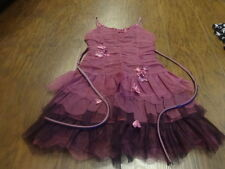 BOUTIQUE BISCOTTI  GIRLS 10 PURPLE DRESS