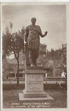 BF32474 roma statuaa giulio cesare doi giardini di via de italy front/back image