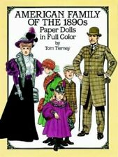 American Family of the 1890s Paper Dolls i. by Tierney, Tom Other printed item