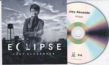 JOEY ALEXANDER ECLIPSE UK PROMO CD