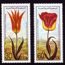 Syrien Syria 1986 ** Mi.1629/30 Blumen Flowers Tulpen Tulips