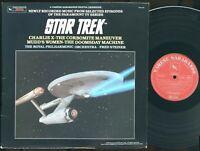 Star Trek Music Selected Episodes Royal Philharmonic 1985 LP Varèse 704.270 EX