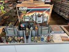 1983 GI Joe Headquarters Command Center Box Instructions Complete + 17 Figures!