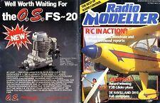 RADIO MODELLER MAGAZINE 1995 OCT G F ELSEGOOD DE HAVILLAND DH6 FREE PLANS