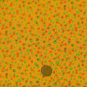 Makower On the Pond 3090 Orange 100% Cotton Fat Quarter